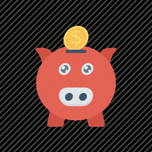 Cash, money, piggybank, savings icon - Download on Iconfinder