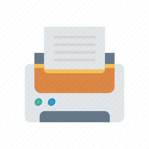 Fax, output, print, printer icon - Download on Iconfinder
