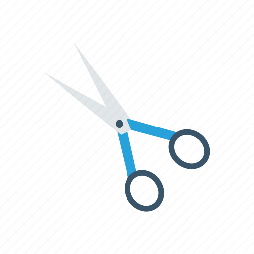 Cut, school, scissors, stationery icon - Download on Iconfinder