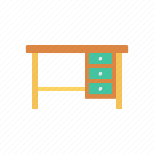 business, meeting, office, table icon