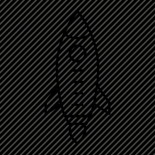 boost, rocket, speedup, startup icon