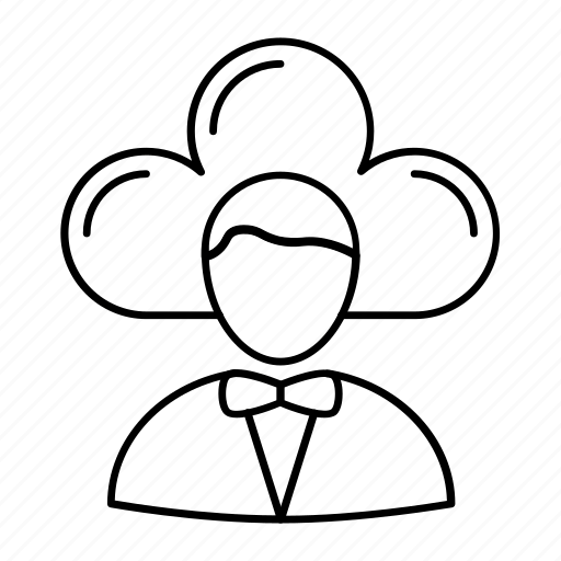 account, cloud, server, user icon