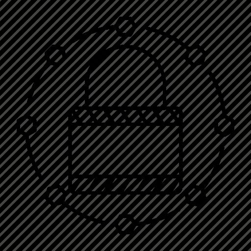 lock, padlock, protection, security icon