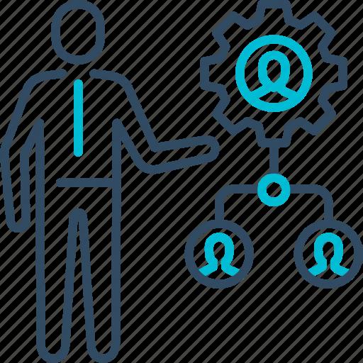 business, management, team, teamwork icon