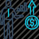 analysis, finance, graph, growth, profit