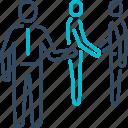 communication, contract, deal, handshake, meeting, partnership icon