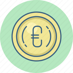 cash, currency, euro, finance, money, payment, sign icon