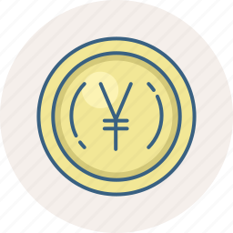 banking, cash, currency, finance, money, payment, yen icon