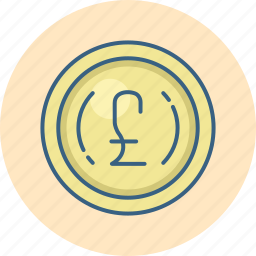 british, currency, finance, money, payment, pound, sign icon