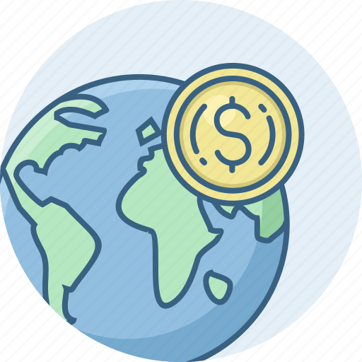 country, currency, dollar, money, nation, national, world icon
