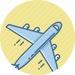 aircraft, airplane, aviation, flight, fly, jet, plane icon
