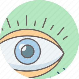 checkup, eye, find, look, seo, view, vision icon