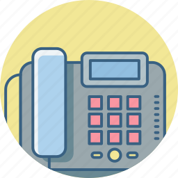 call, communication, contact, interaction, landline, phone, telephone icon