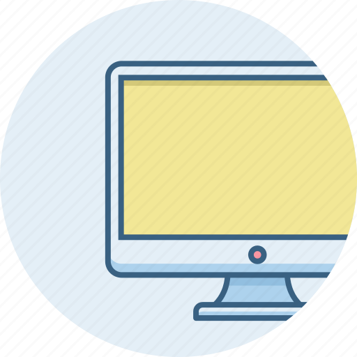 computer, device, display, pc, screen, technology icon