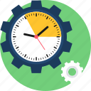 duration, management, setting, settings, time icon