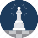 boss, chess, management, master, rule, strategy icon