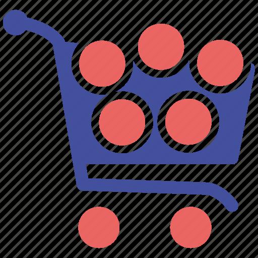 basket, media, online, social, social market, web, web page icon