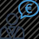 chat, revenue, talk, wealth icon