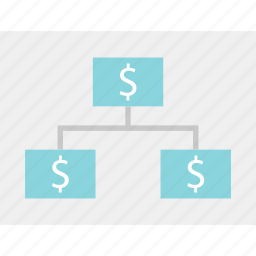 business, dollar, money, planning, revenue, sign, strategy icon