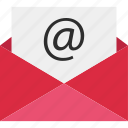 at, email, envelope, mail, send, sign icon