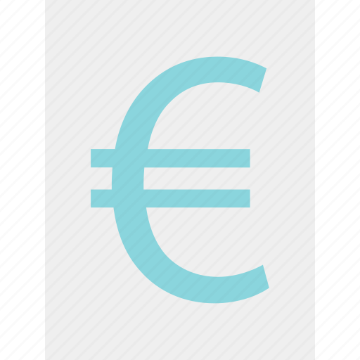 euro, layout, money, page, revenue, sign, wealth icon