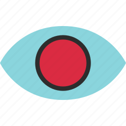 eye, eyeball, find, google, look, search icon
