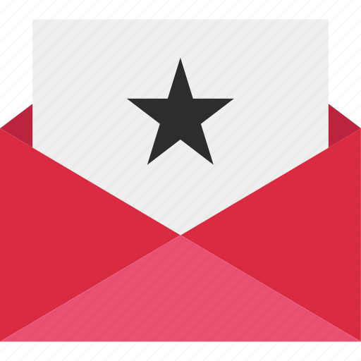 email, envelope, favorite, mail, send, star icon