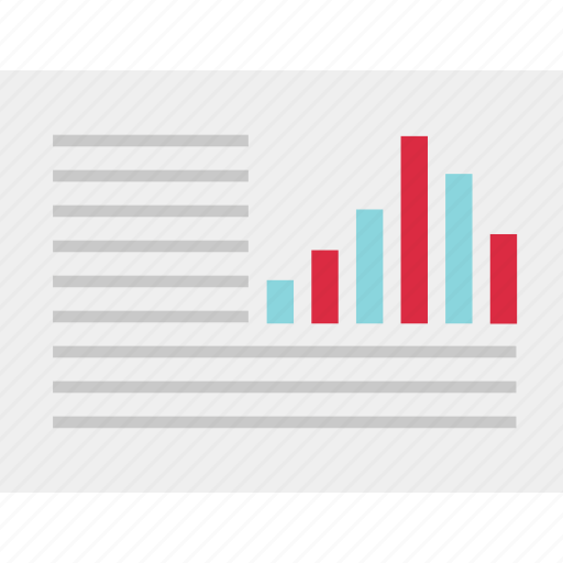 annual, bars, chart, data, graph, report icon