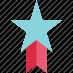 favorite, honor, reward, special, star, trohpy icon