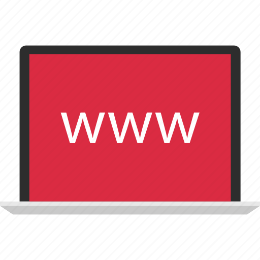 internet, laptop, online, web, website, www icon