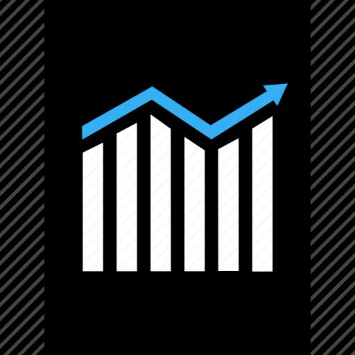 analytics, analyze, business, data, money, online icon
