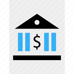bank, banker, banking, business, data, money, online icon
