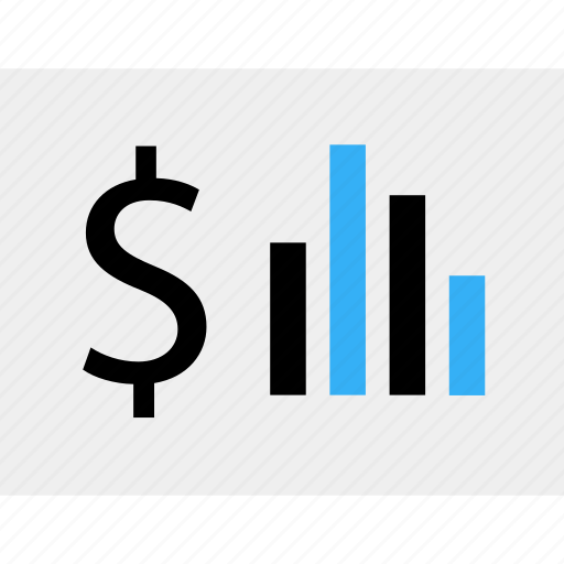 business, data, dollar, money, online, sign icon