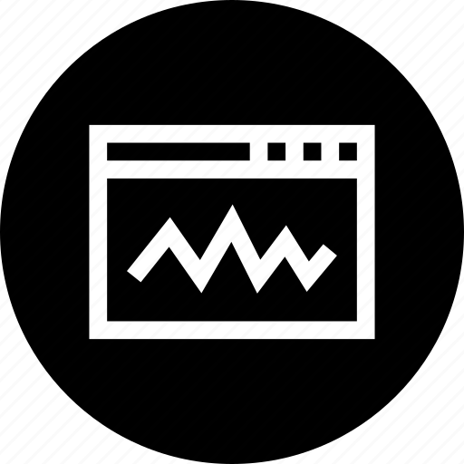 analytics, data, development, graph, state, statics, window icon