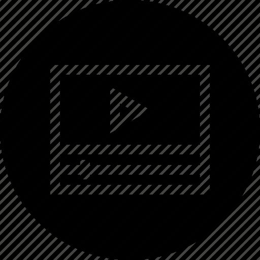 animation, audio, media, multimedia, music, play icon