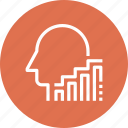chart, growth, head, human, mind, success, thinking