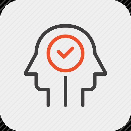 employee, head, human, mind, selection, skill, thinking icon