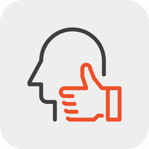 chart, good, head, human, job, like, mind icon