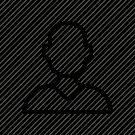 avatar, employee, male, man, user icon