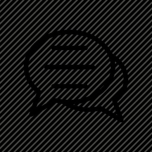 bubble, chat, conversation, discussion, messages icon