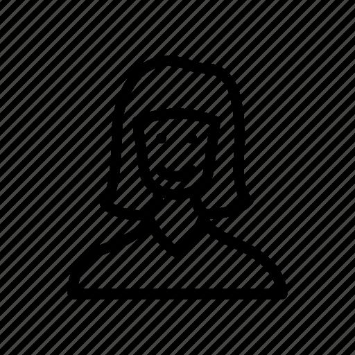 Girl, lady, avatar, female, women icon
