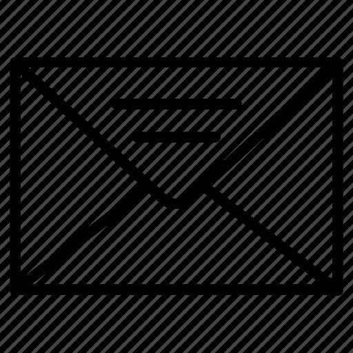 emai, envelope, inbox, message icon
