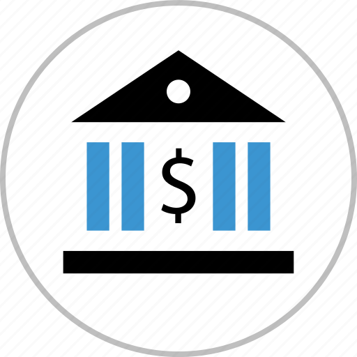 bank, banking, dollar, interest, money, revenue, sign icon