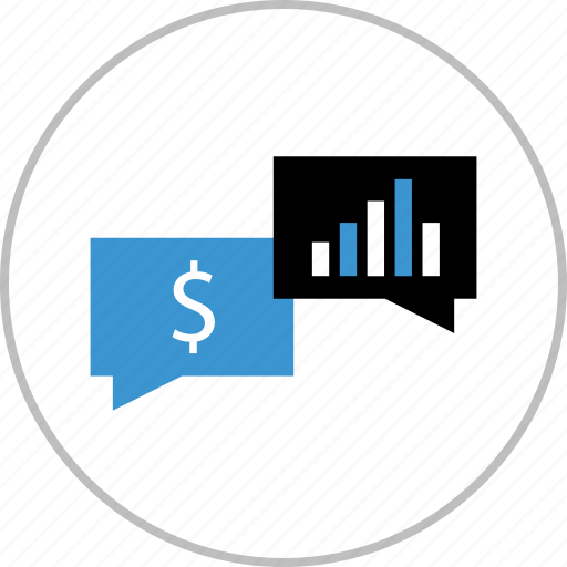 chat, conversation, dollar, money, sign, talk, wealth icon