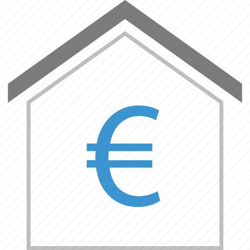 equity, euro, money, sign icon