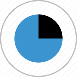 analytics, analyze, chart, graph, pie, report icon