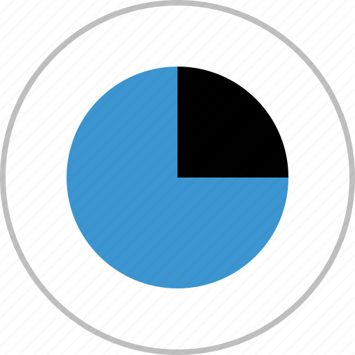 analytics, analyze, chart, graph, pie, report icon