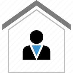 home, owner, profile, user icon