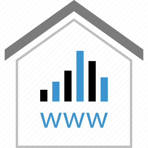 house, online, web, website, www icon