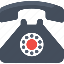 app, old retro telecommunication, retro, telephone, vintage icon icon